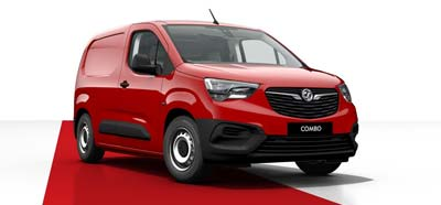 Vauxhall Combo - Available in Ruby Red