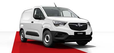 Vauxhall Combo - Available in White Jade